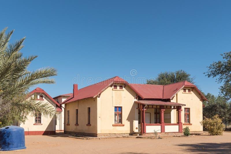 Museo nei vecchi postmaster che costruiscono in Rehoboth immagine stock libera da diritti