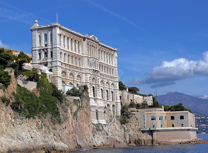 Museo oceanográfico de Mónaco imágenes de archivo libres de regalías