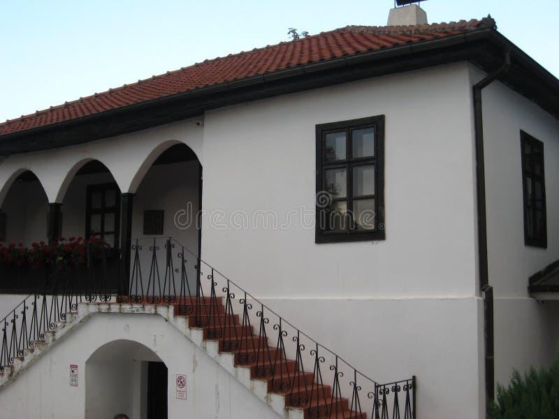 Museo, pæse d'origine, piccolo, stazione termale, città, Sokobanja, Serbia fotografie stock libere da diritti