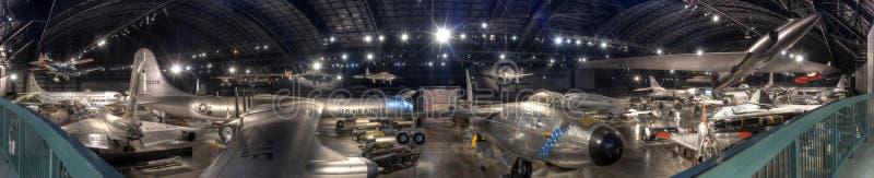Museo panorama della galleria della guerra fredda di Dayton, OHIO del U.S.A.F. immagini stock libere da diritti