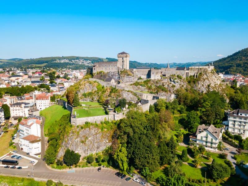 Museo pirenáico del fuerte en Lourdes imágenes de archivo libres de regalías