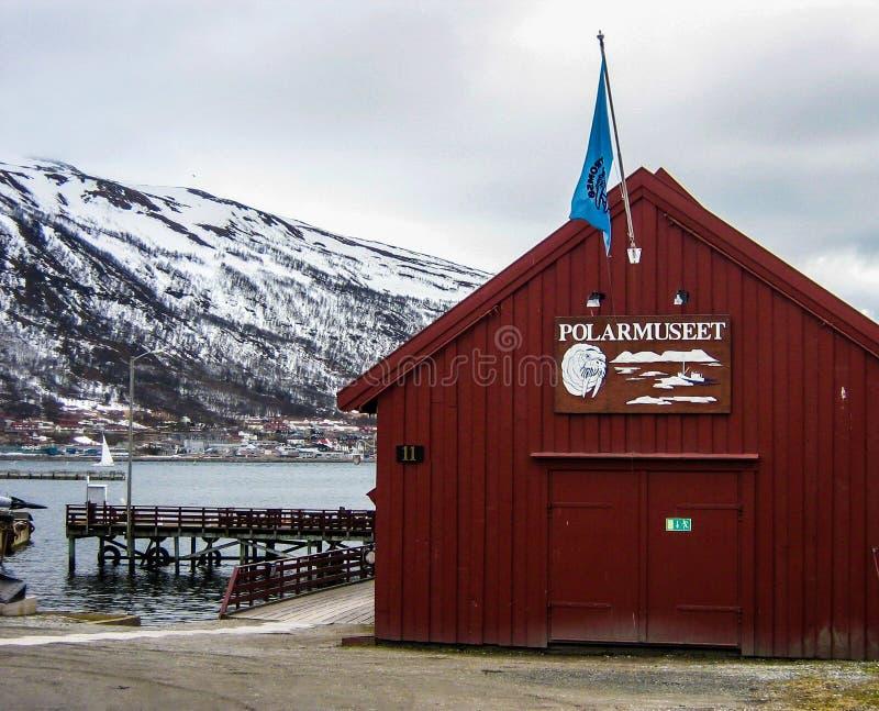 Museo polar en Tromso imagenes de archivo