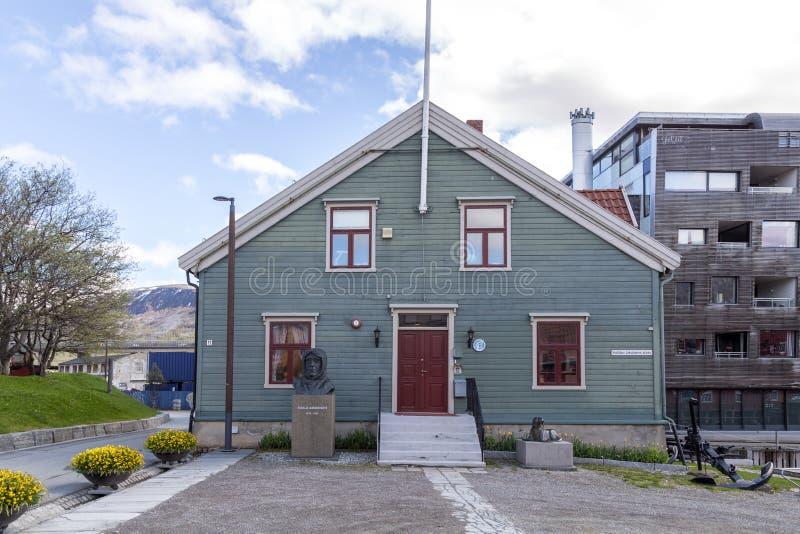 Museo polar en Tromso, Noruega fotografía de archivo libre de regalías