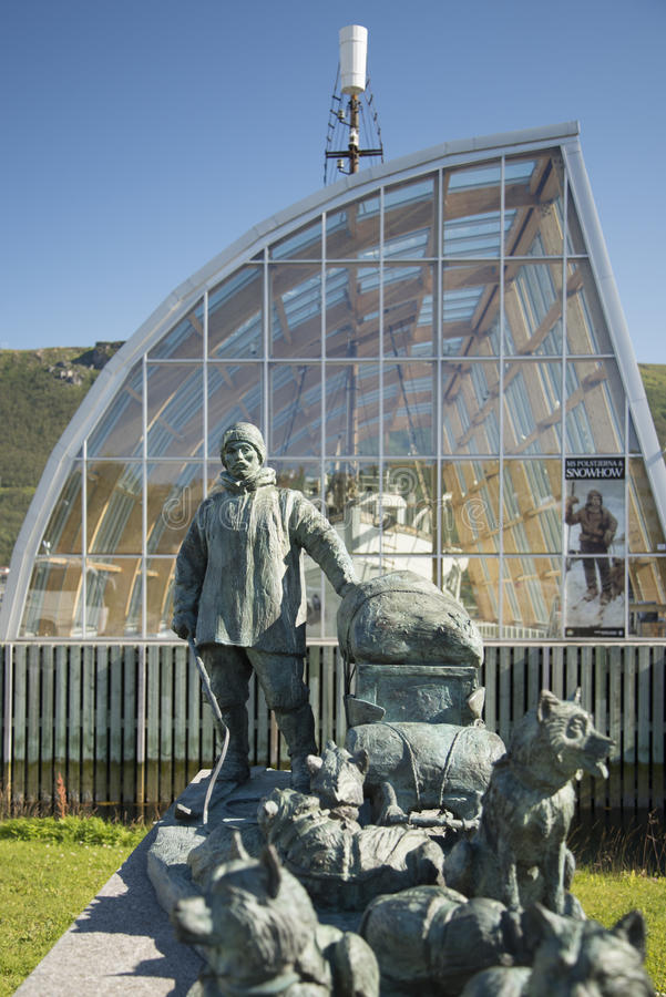 Museo polar, Tromso foto de archivo