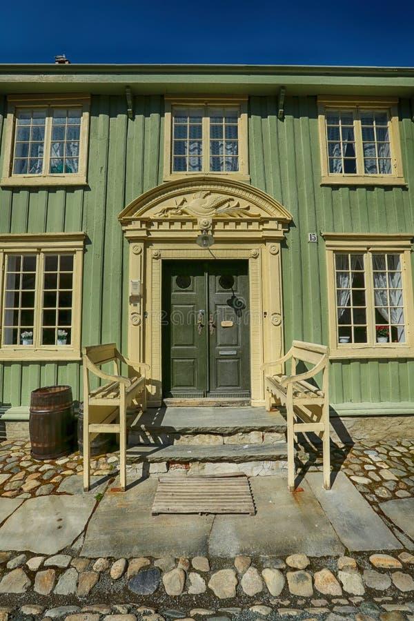 Museo popular de Sverresborg, Strondheim, Noruega fotos de archivo