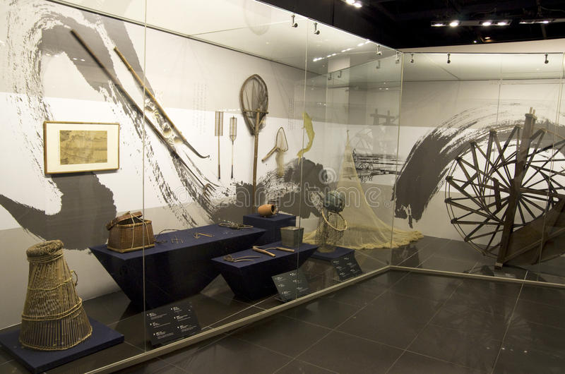Museo popular nacional Seul Corea imagen de archivo