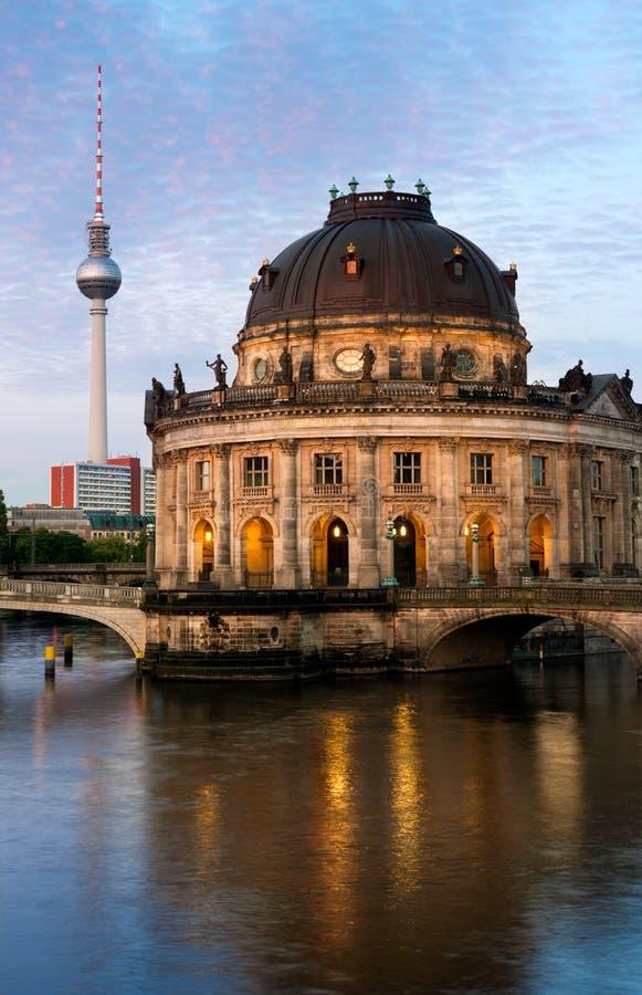 Museo preannunciato a Berlino immagini stock libere da diritti