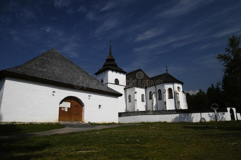 Museo Pribylina foto de archivo