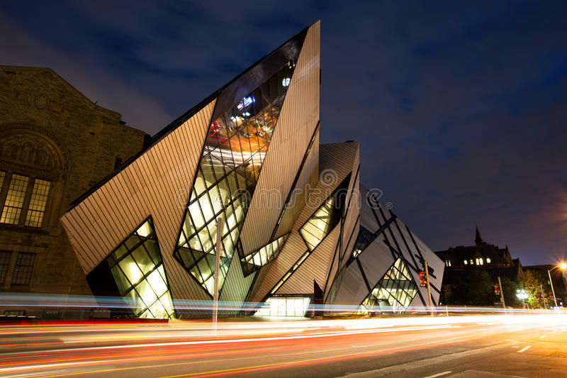 Museo reale di Ontario, Toronto immagini stock libere da diritti