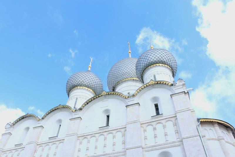 Museo-riserva di Cremlino di Rostov fotografia stock libera da diritti