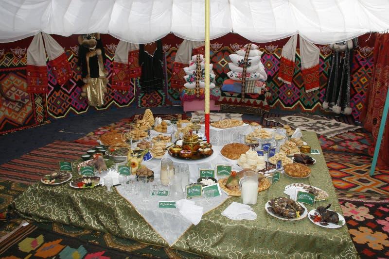 museo Ropa y ornamento nacionales bashkires República de Bashkortostan fotografía de archivo