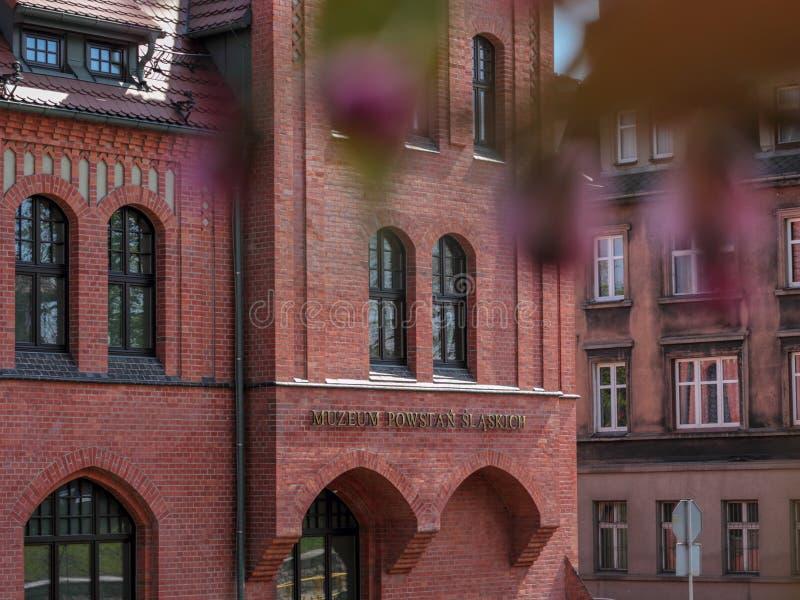 Museo silesio de las sublevaciones, Swietochlowice fotografía de archivo libre de regalías