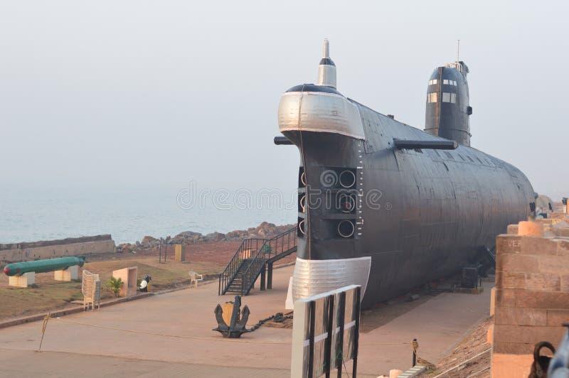 Museo sottomarino dell'Istituto centrale di statistica Kursura, Vizag fotografie stock libere da diritti