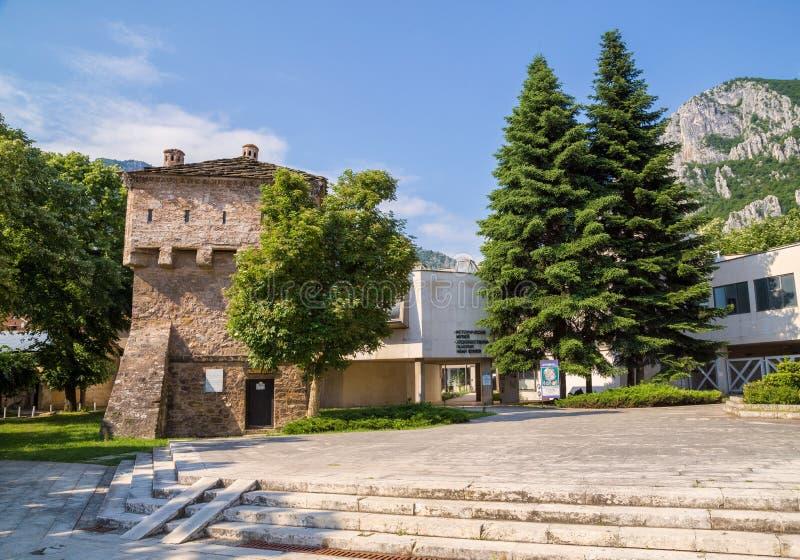 Museo storico regionale in Vratsa, Bulgaria fotografie stock
