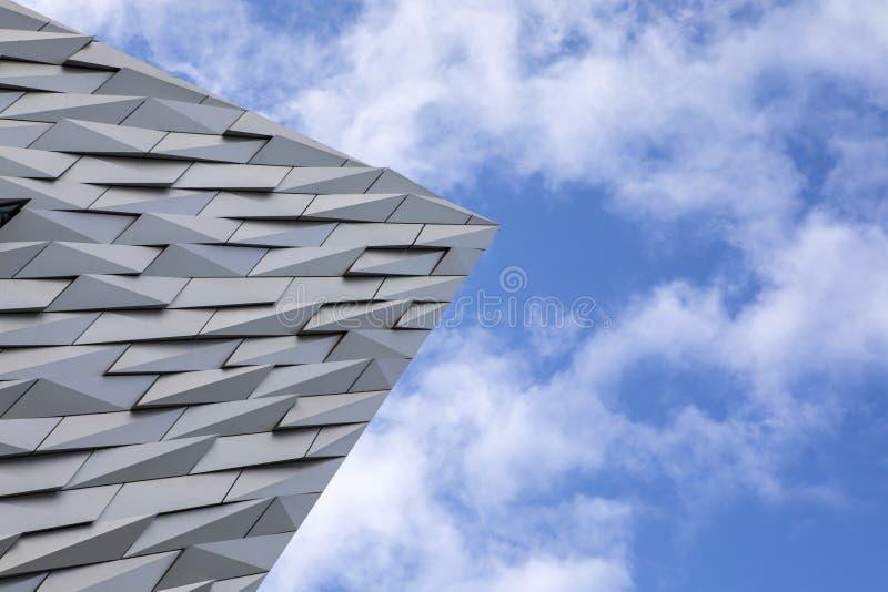 Museo titánico de Belfast imagenes de archivo
