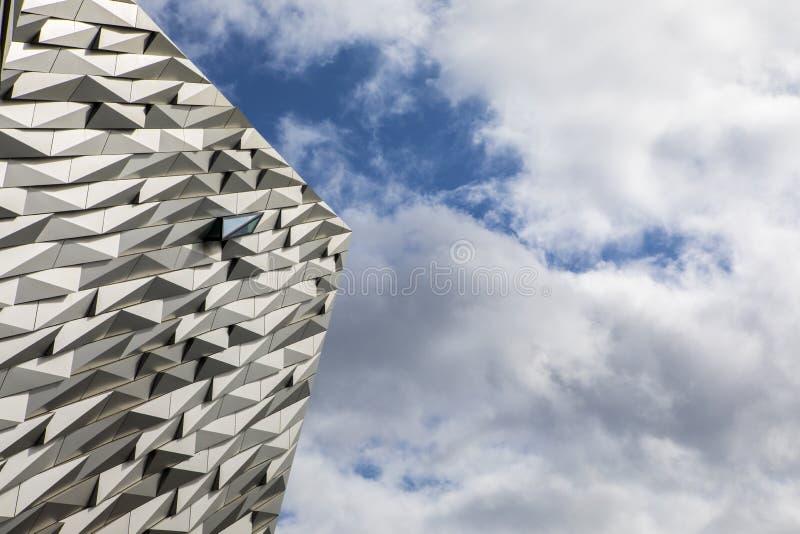 Museo titánico de Belfast imagen de archivo libre de regalías