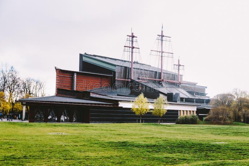 Museo Vasa en Estocolmo, Suecia fotografía de archivo libre de regalías