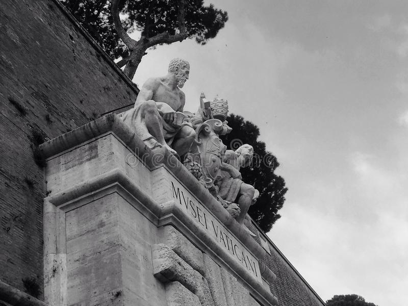 Museo Vaticani royalty free stock photo