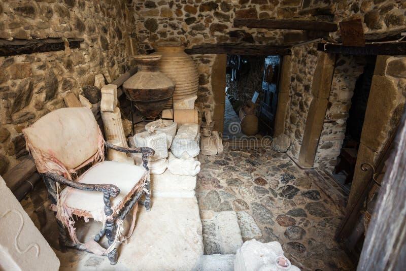 Museo veneciano, isla de Naxos fotografía de archivo libre de regalías