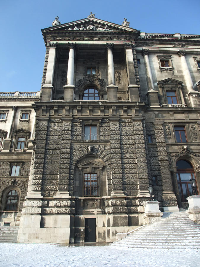 Museo Vienna di storia di arte fotografie stock libere da diritti