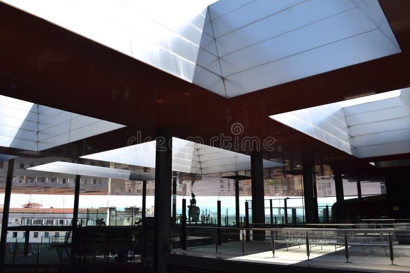 Museo y nacional Art Center Reina Sofía imagen de archivo