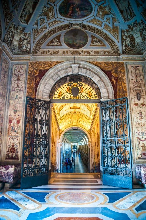 Museos del Vaticano fotografía de archivo