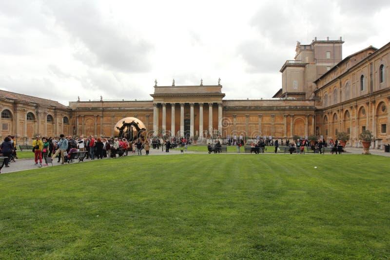 Museos del Vaticano roma imagen de archivo