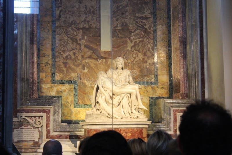 Museos del Vaticano y capilla de Sistine imagen de archivo libre de regalías