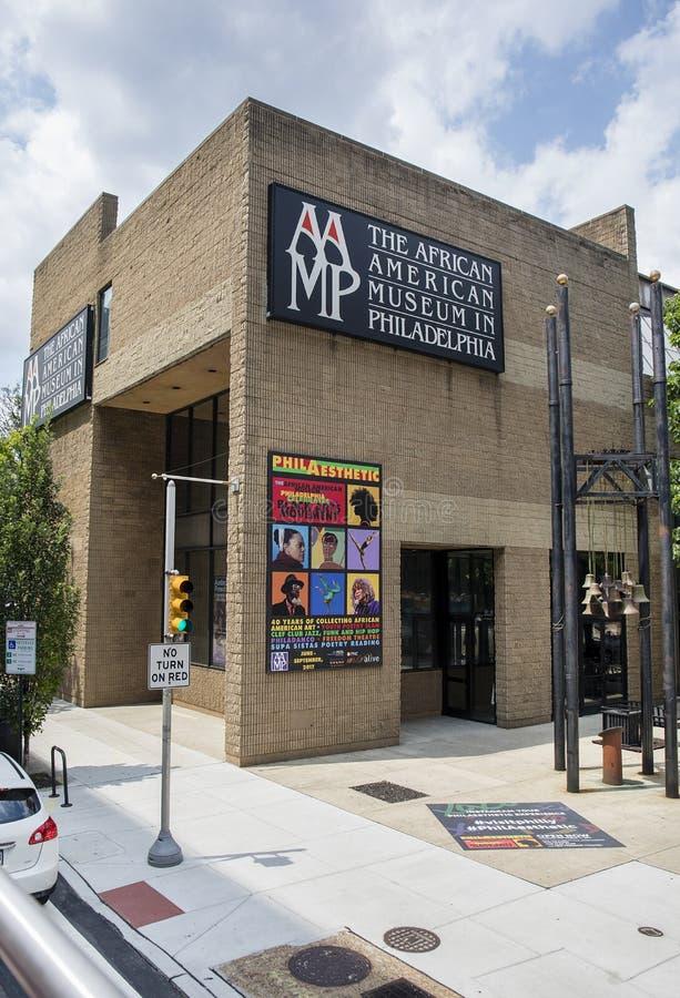 Museu afro-americano em Philadelphfia imagens de stock royalty free
