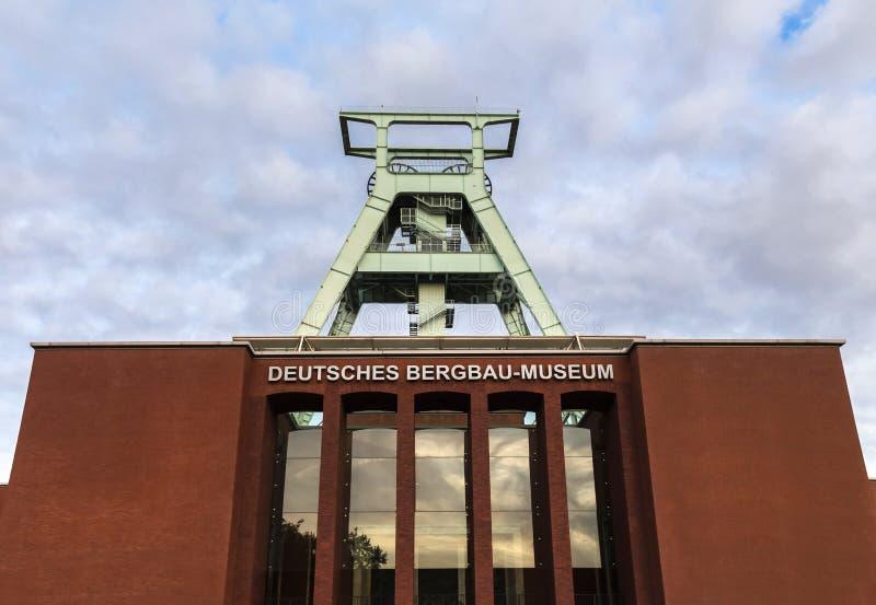 Museu alemão bochum Alemanha da mineração foto de stock royalty free