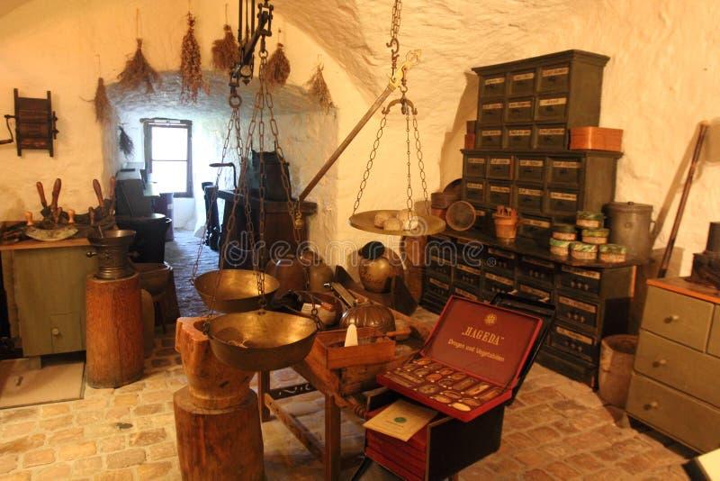 Museu alemão da farmácia, Heidelberg fotos de stock royalty free