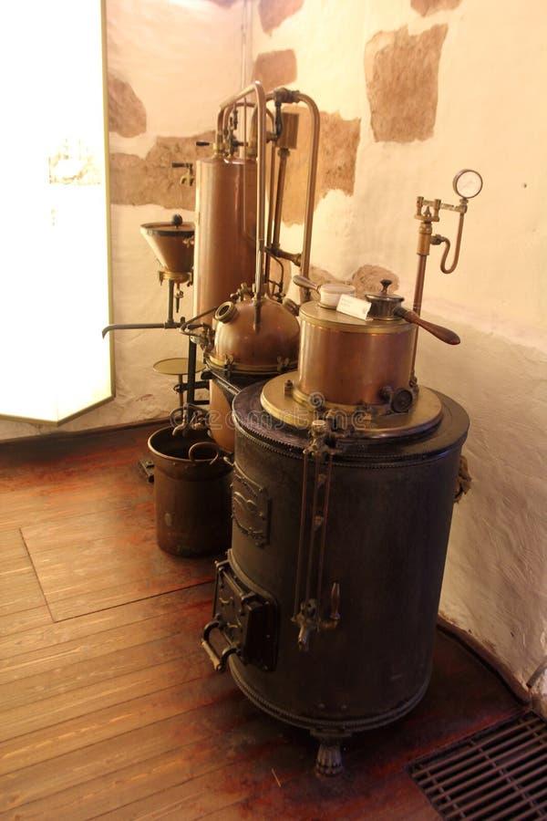 Museu alemão da farmácia, Heidelberg fotografia de stock
