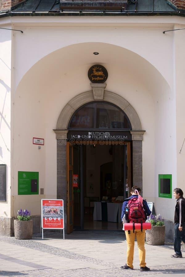 Museu alemão Munich da caça e da pesca fotos de stock royalty free