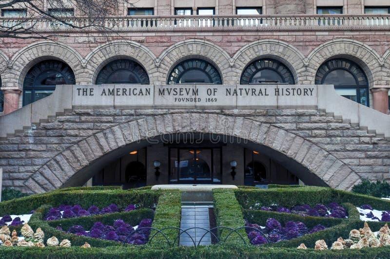 Museu americano da História natural foto de stock