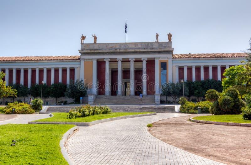 Museu Archaeological nacional, Atenas, Greece fotografia de stock royalty free