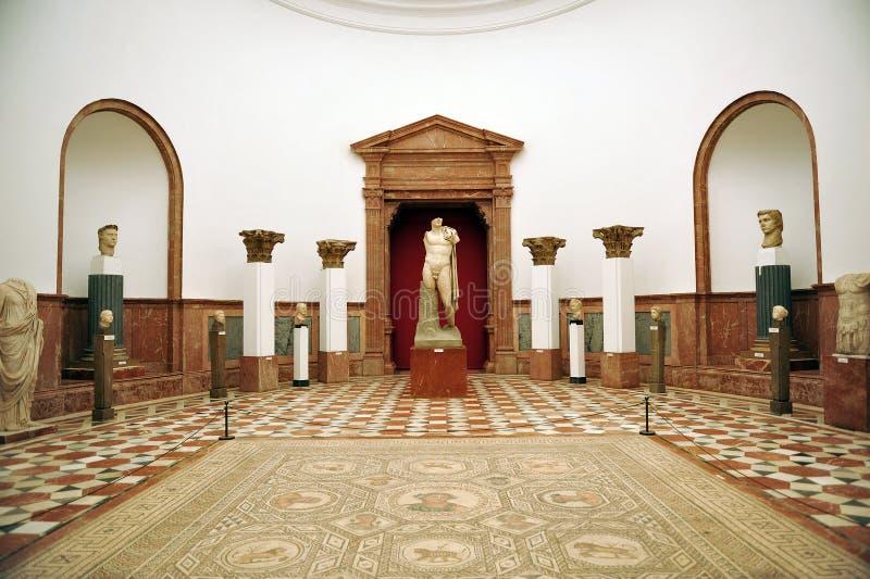 Museu arqueológico de Sevilha, a Andaluzia, Espanha fotografia de stock