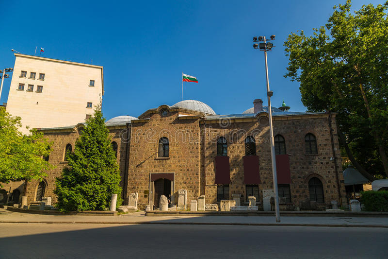 Museu arqueológico em Sófia fotografia de stock