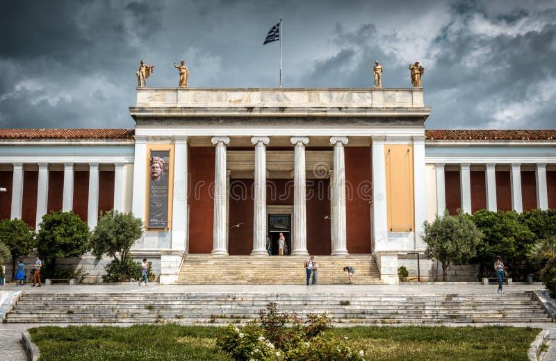 Museu arqueológico nacional de Atenas, Grécia imagem de stock