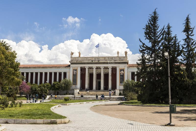 Museu arqueol?gico nacional, Atenas imagem de stock royalty free