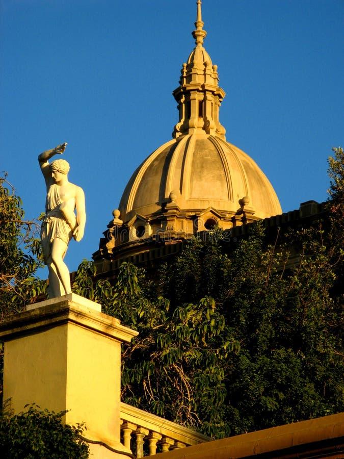 Museu d'Art Catalunya 08 stock photography