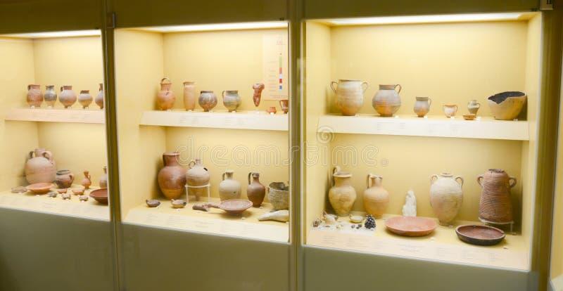 Museu da ágora ateniense antiga, Atenas, Grécia foto de stock royalty free