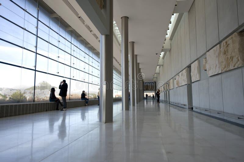 Museu da acrópole foto de stock