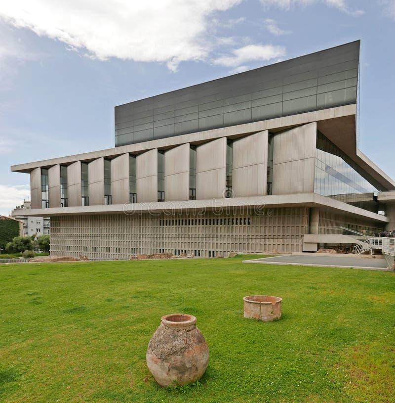 Museu da acrópole imagem de stock royalty free