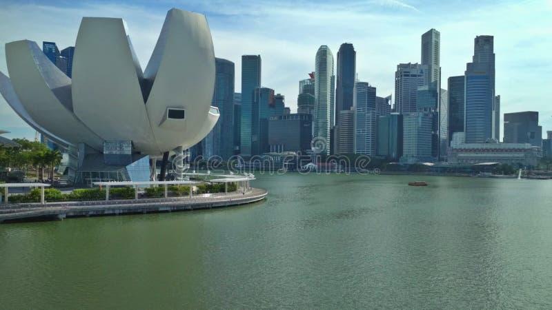 Museu da Arte-ciência, Singapura fotos de stock