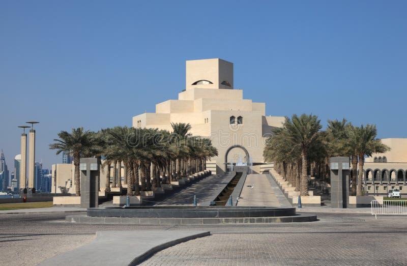 Museu da arte islâmica em Doha fotos de stock royalty free