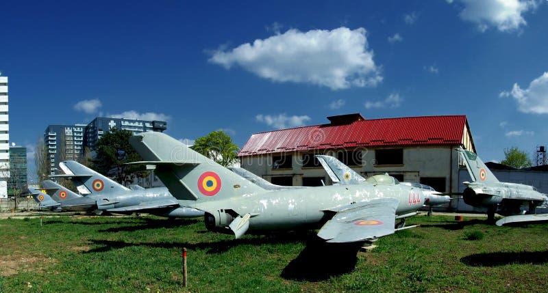 Museu da aviação imagem de stock