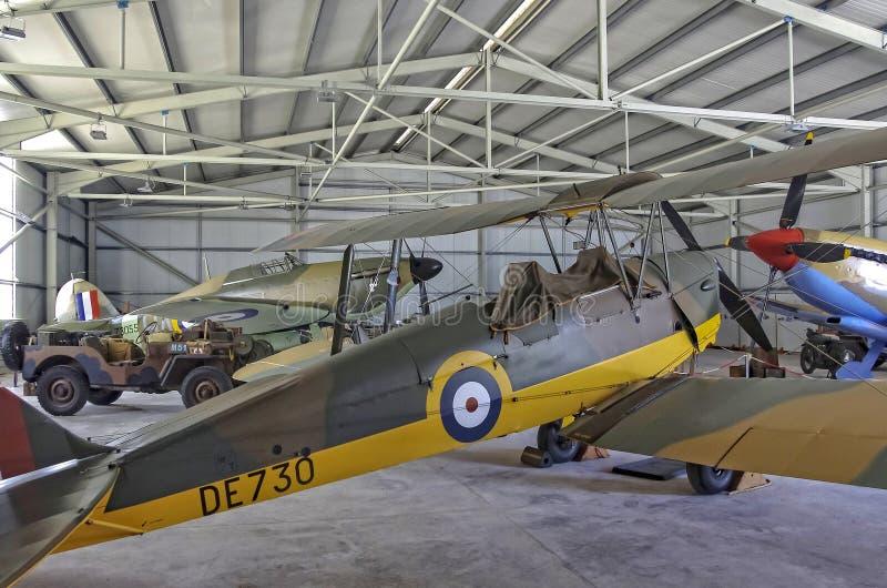 Museu da aviação de Malta fotos de stock
