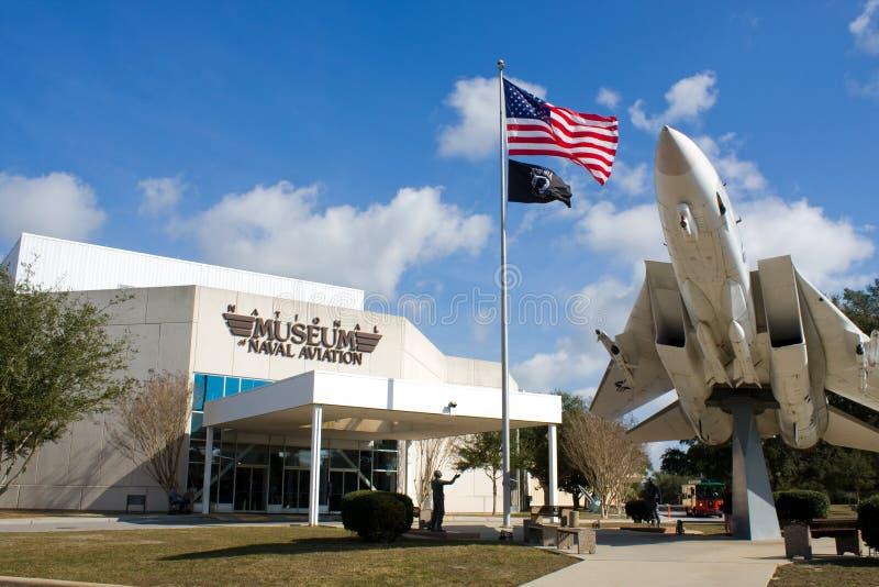 Museu da aviação naval fotos de stock