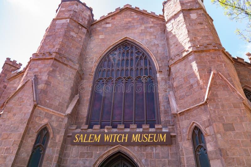 Museu da bruxa de Salem fotos de stock royalty free