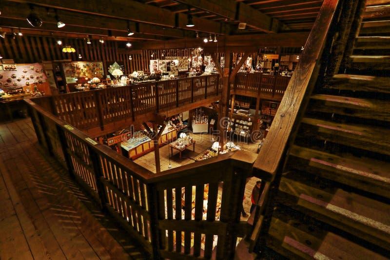 Museu da caixa de música de Otaru imagens de stock royalty free